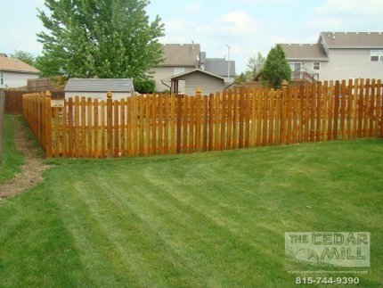 cedar-fence-installed-in-Morris-Illinois-094