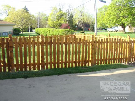 cedar-fence-installed-in-Tinley Park-Illinois-165