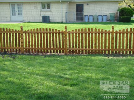 cedar-fence-installed-in-Tinley Park-Illinois-167