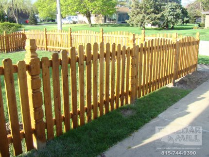 cedar-fence-installed-in-Tinley Park-Illinois-168