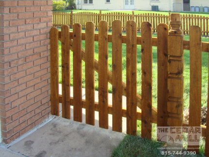 cedar-fence-installed-in-Tinley Park-Illinois-169