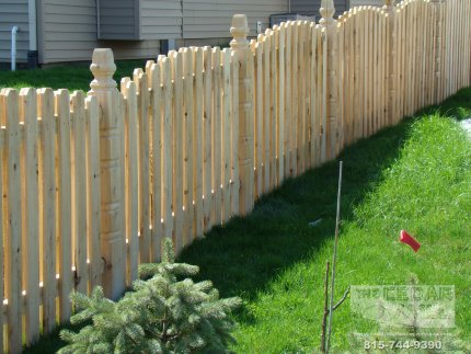 cedar-fence-installed-in-Tinley Park-Illinois-171