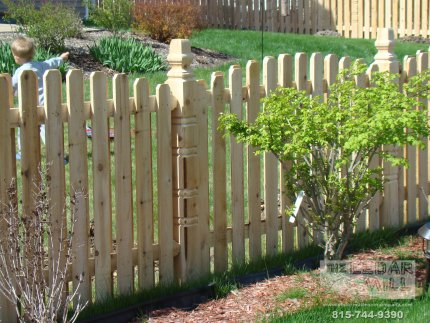 cedar-fence-installed-in-Tinley Park-Illinois-173