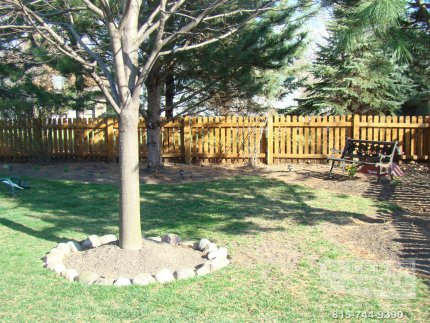 cedar-fence-installed-in-Tinley Park-Illinois-174