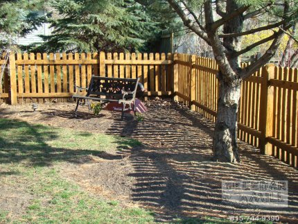 cedar-fence-installed-in-Tinley Park-Illinois-175